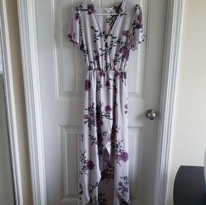 NWOT Floral Romper Dress